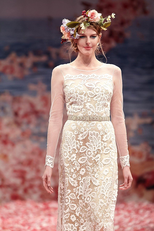 Практичное свадебное платье Claire Pettibone