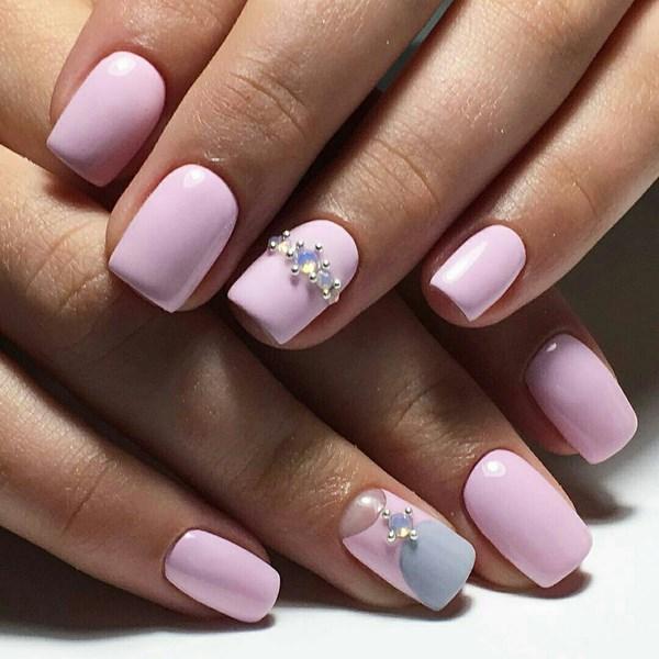 Приятный оттенок розового цвета