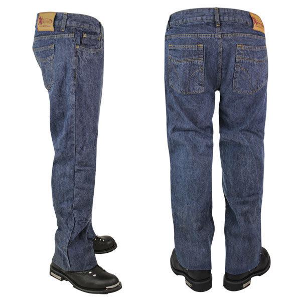 Прямой крой мужских джинсов