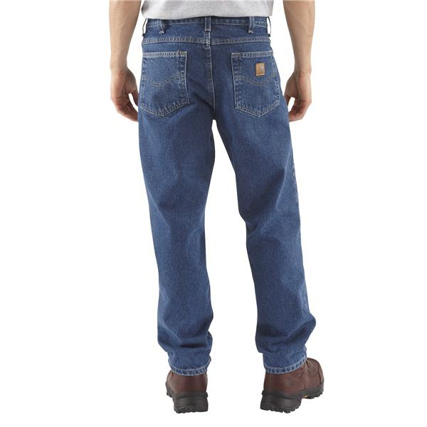 Просторные большие джинсы