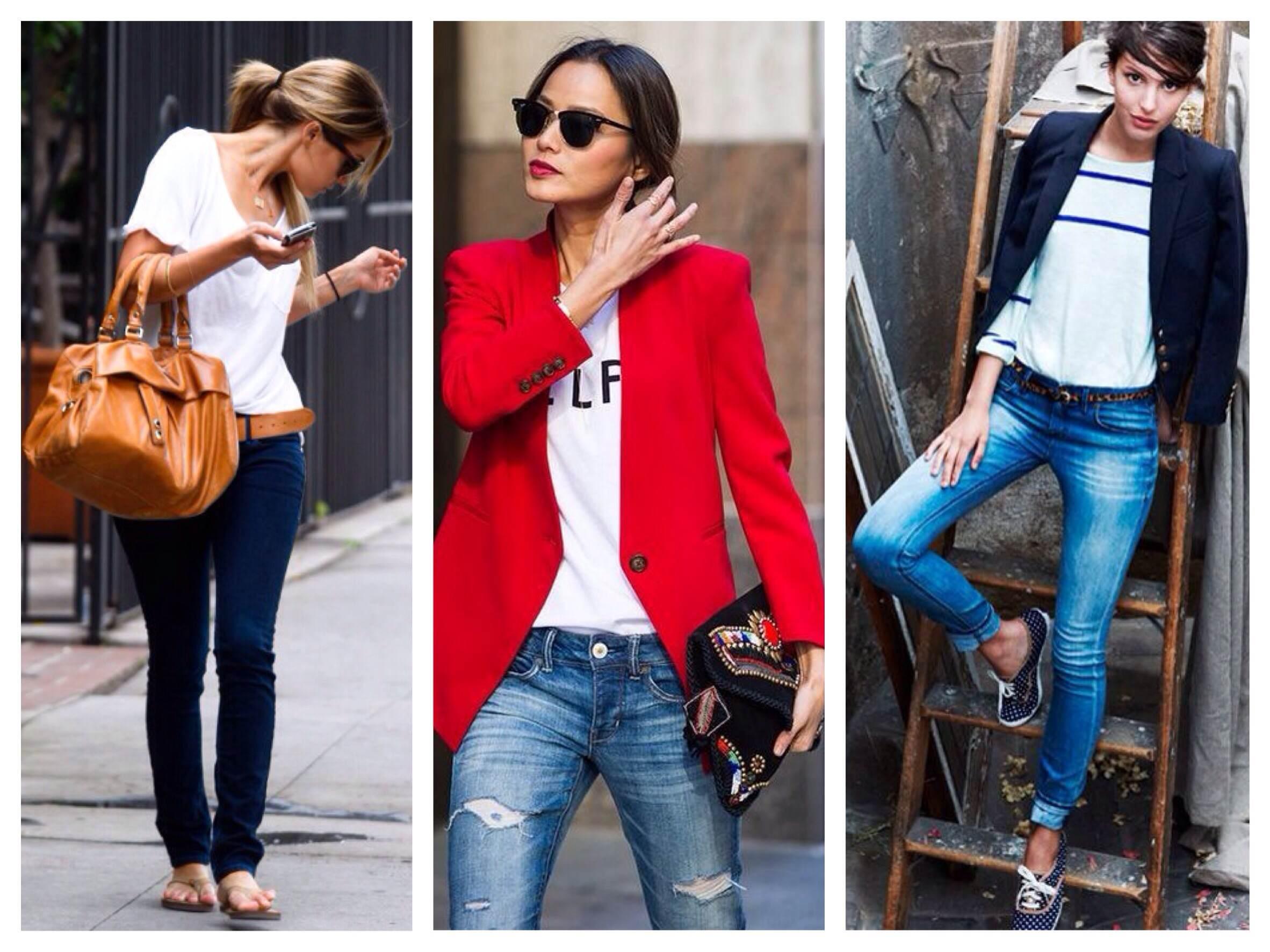 Прямые джинсы с низкой посадкой