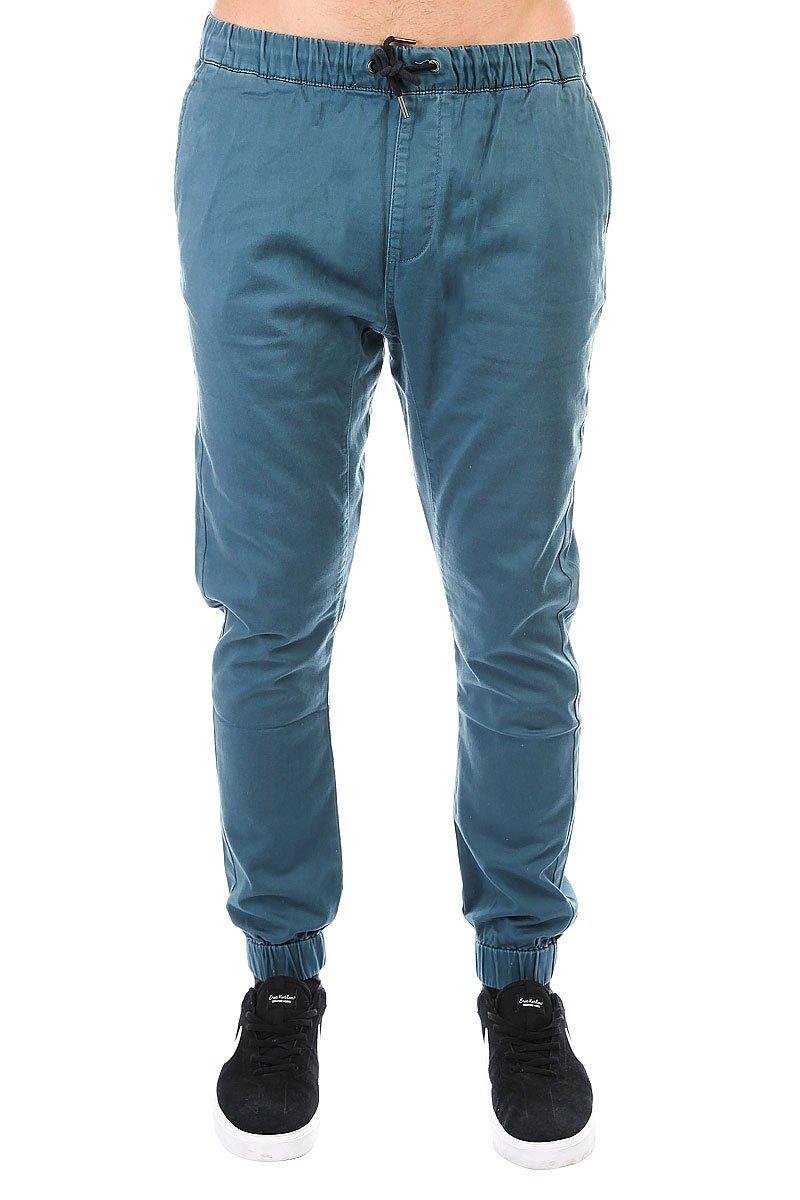 Прямые штаны на резинке