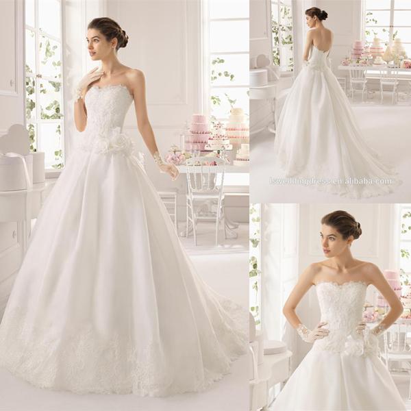 Пушистые платья для свадьбы
