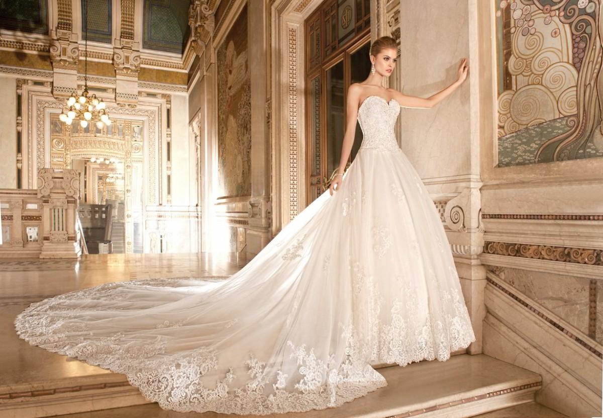 Пышное платье на свадьбу - идеальный вариант