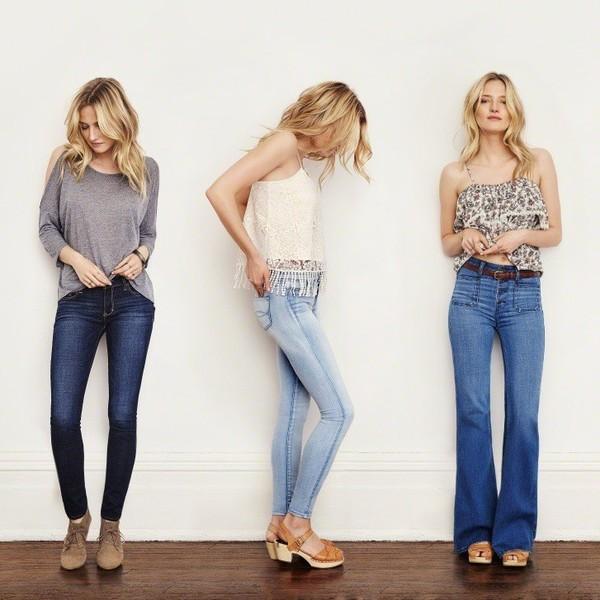 С чем носить джинсы девушке