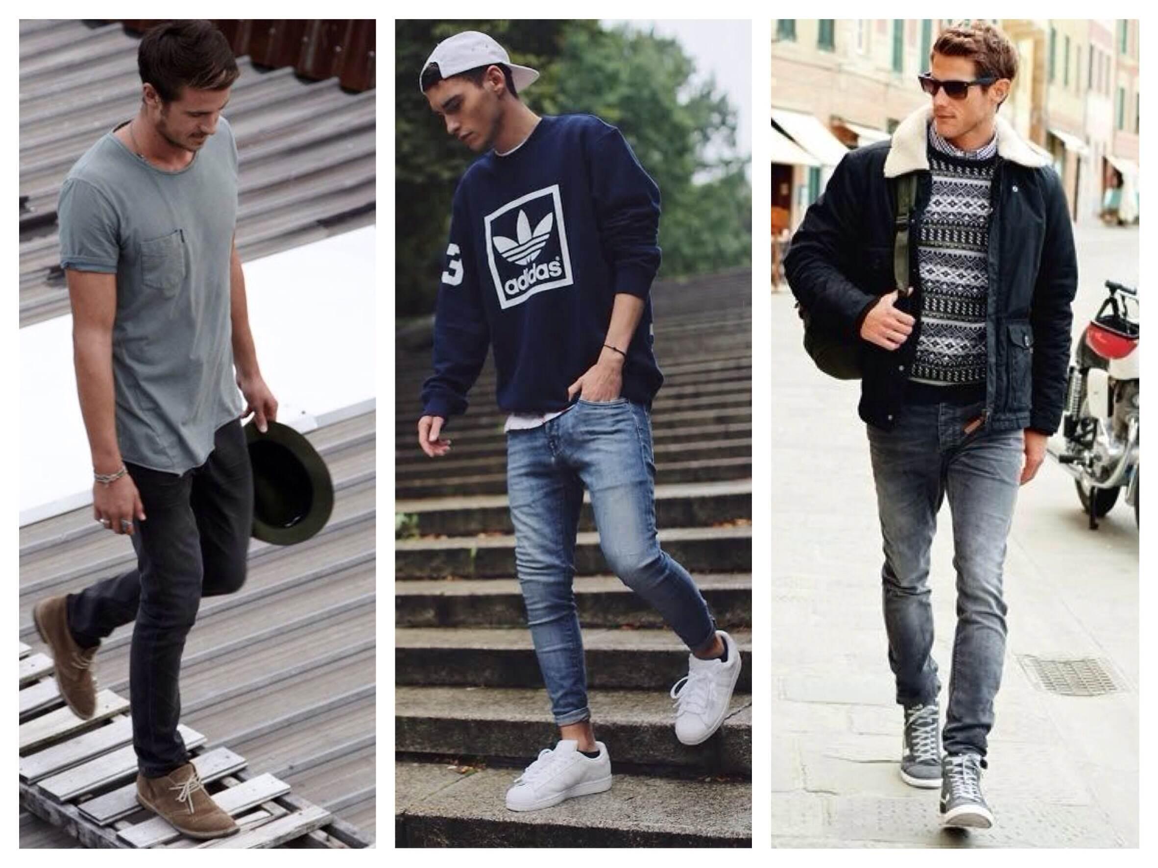 С чем правильно носить джинсы скинни