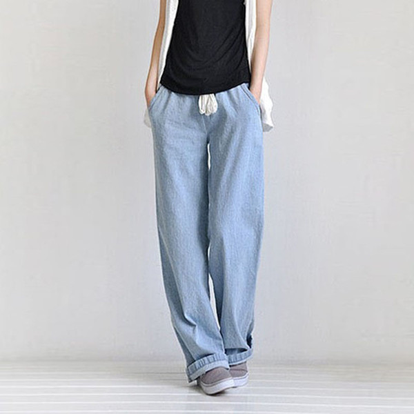 Широкие модные джинсы 2018