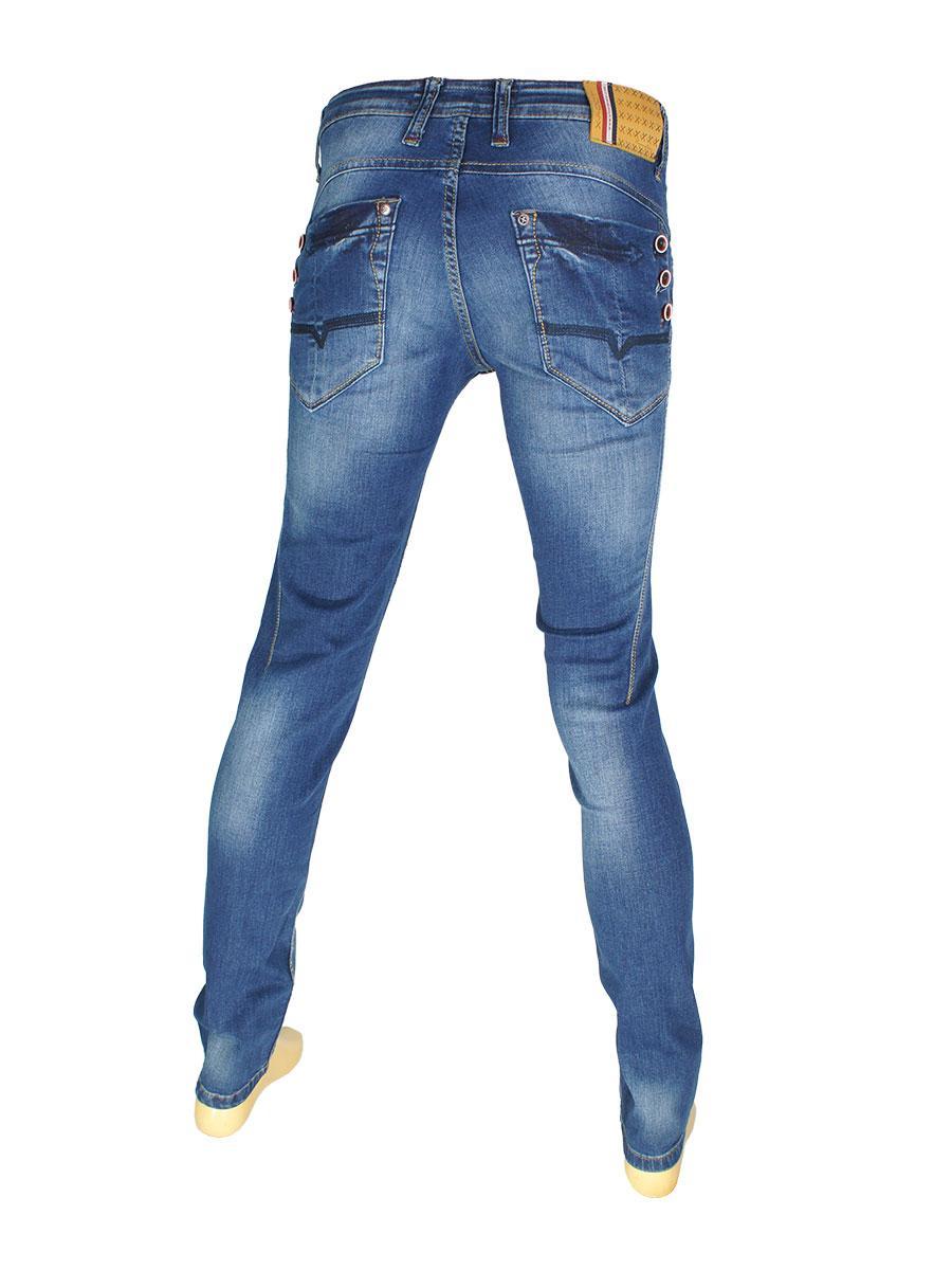 Штаны в синем цвете для парня