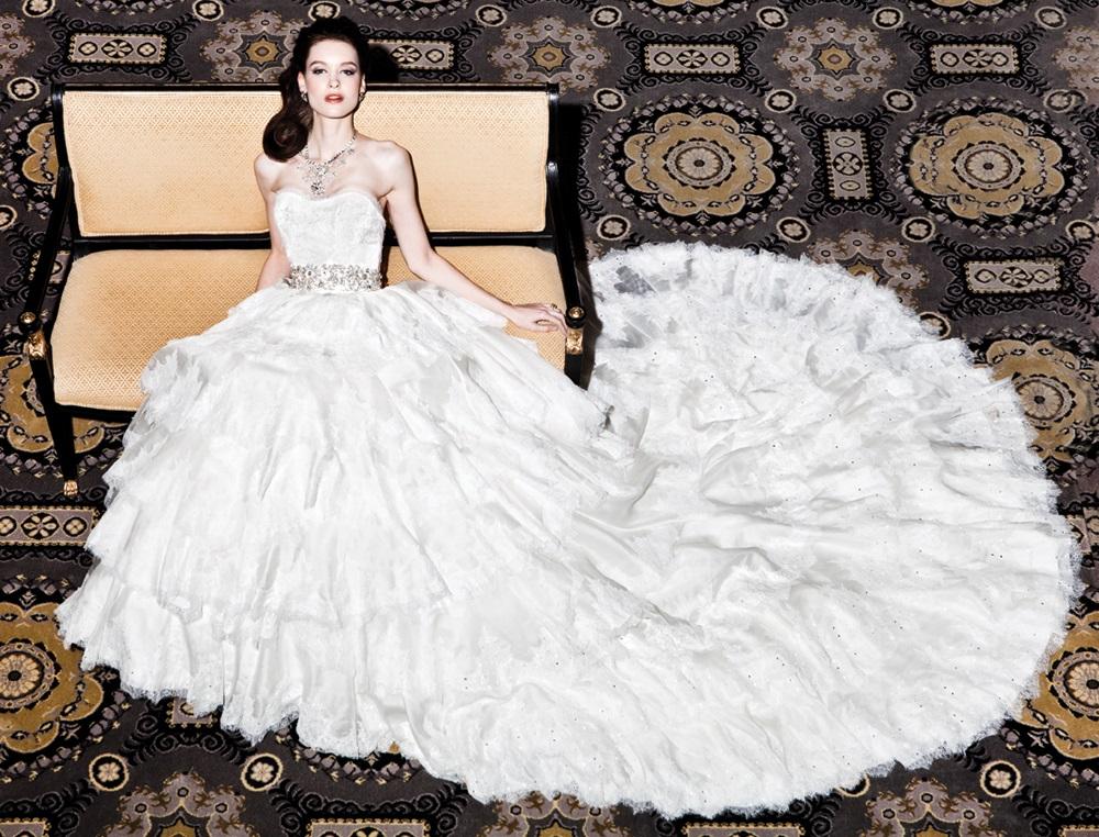 Самые известные и дорогие свадебные платья в мире