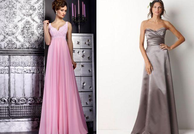 Самые красивые длинные и короткие платья