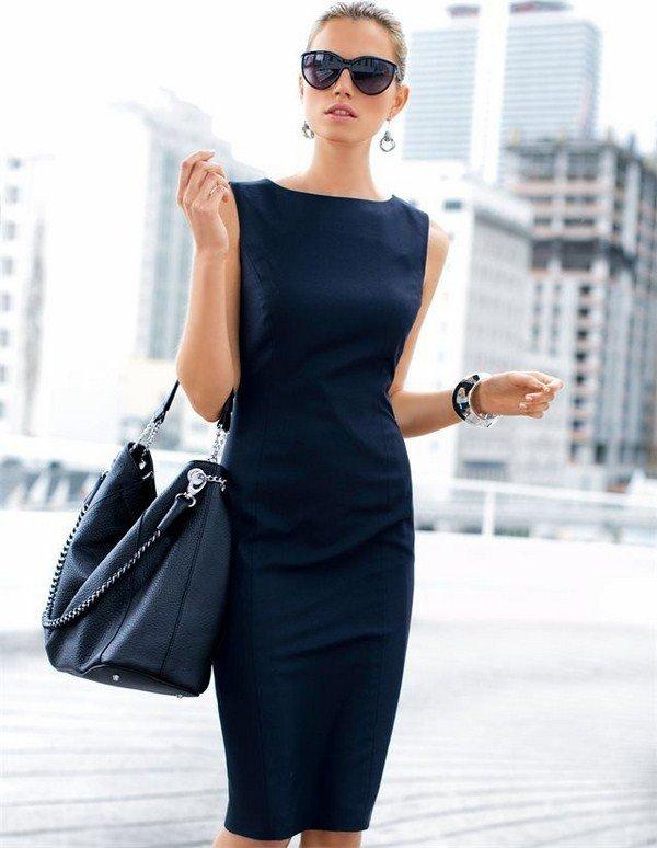 Самые красивые офисные платья