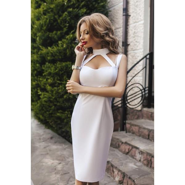 Сексуальное коктейльное платье