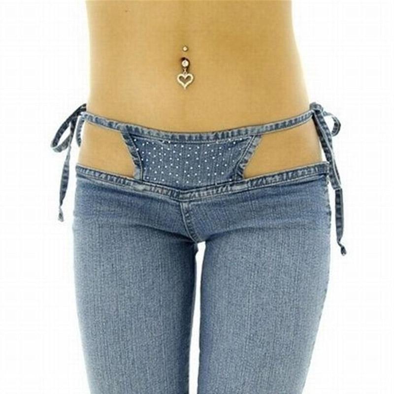 Сексуальные джинсы брюки