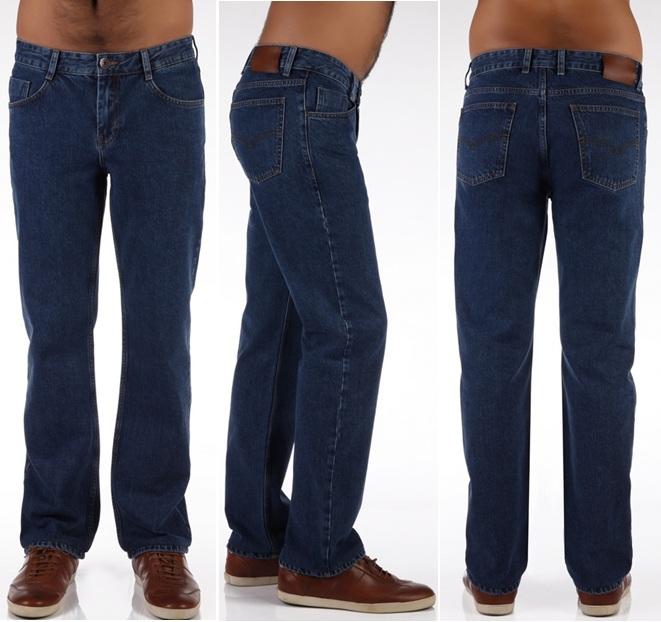 Синие джинсы для мужчины