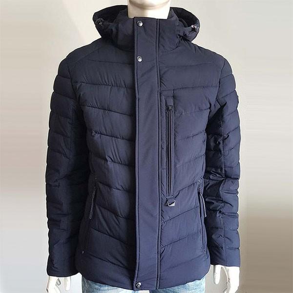 Синяя удобная куртка