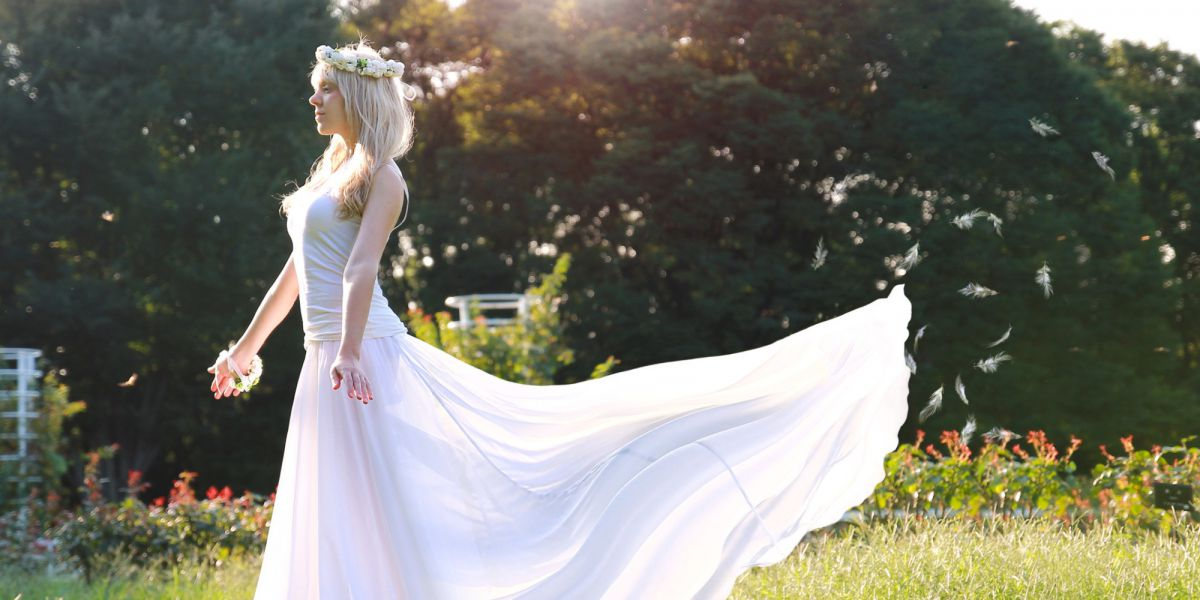 Снится свадебное платье