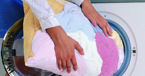 Специальный мешок для стирки платья