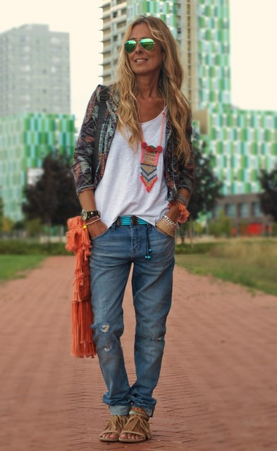 Стиль одежды хиппи