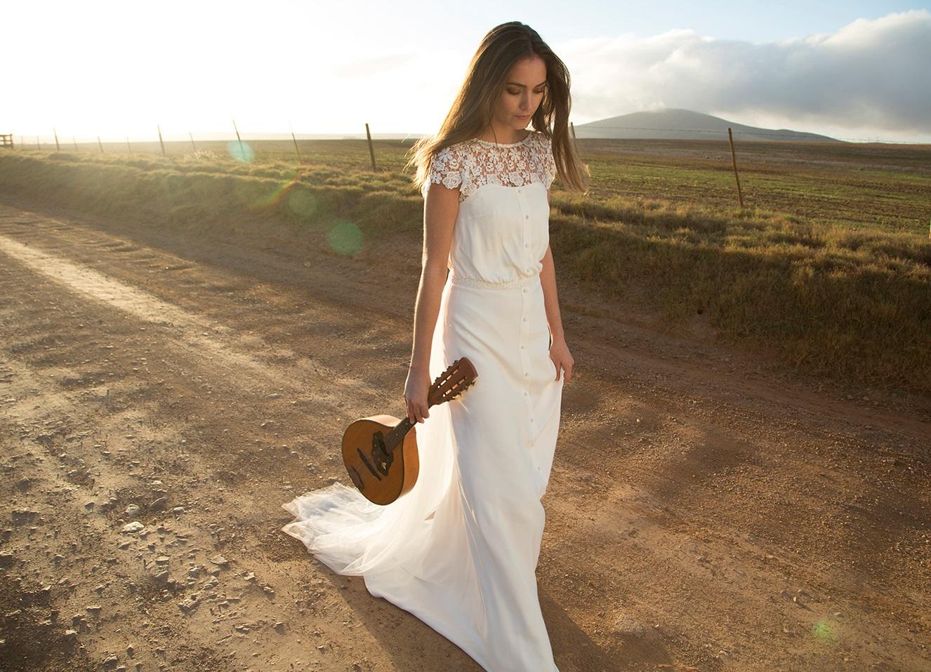 Стиль одежды рустик для невесты
