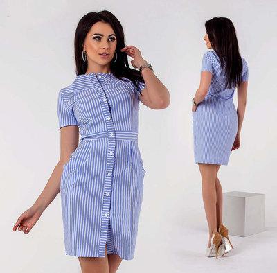 Стильное короткое женское платье-халат