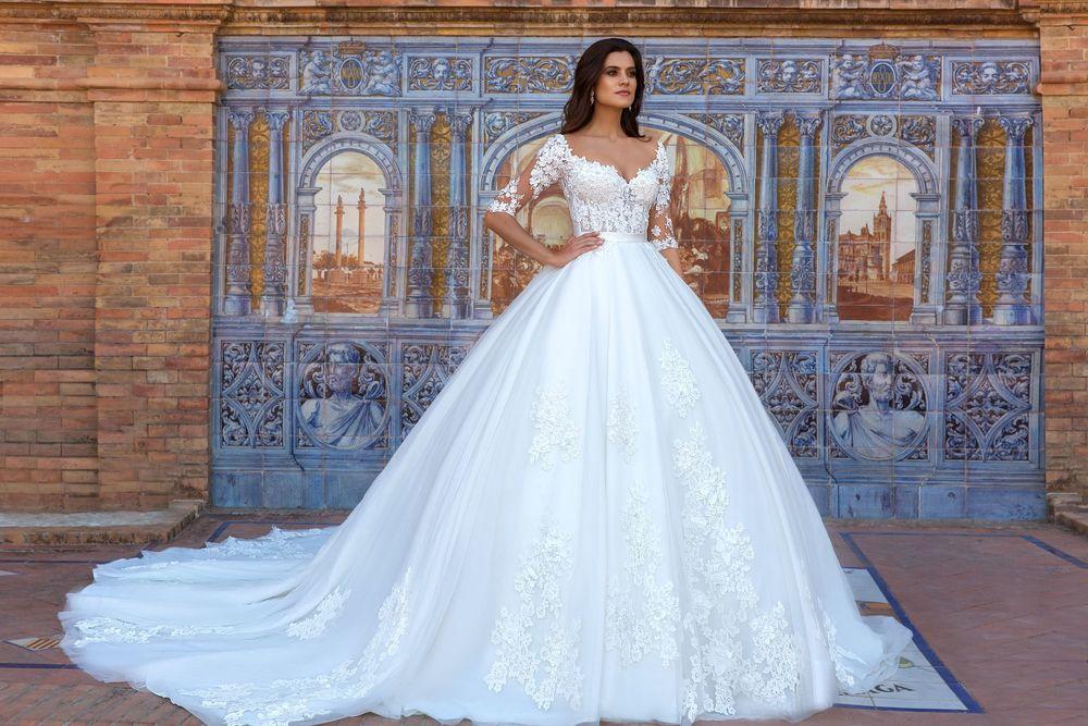 Свадебная мода на платье