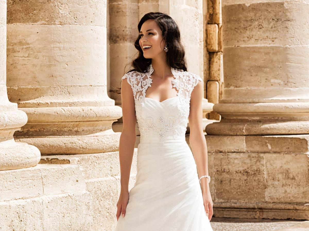 Свадебное платье для маленького роста