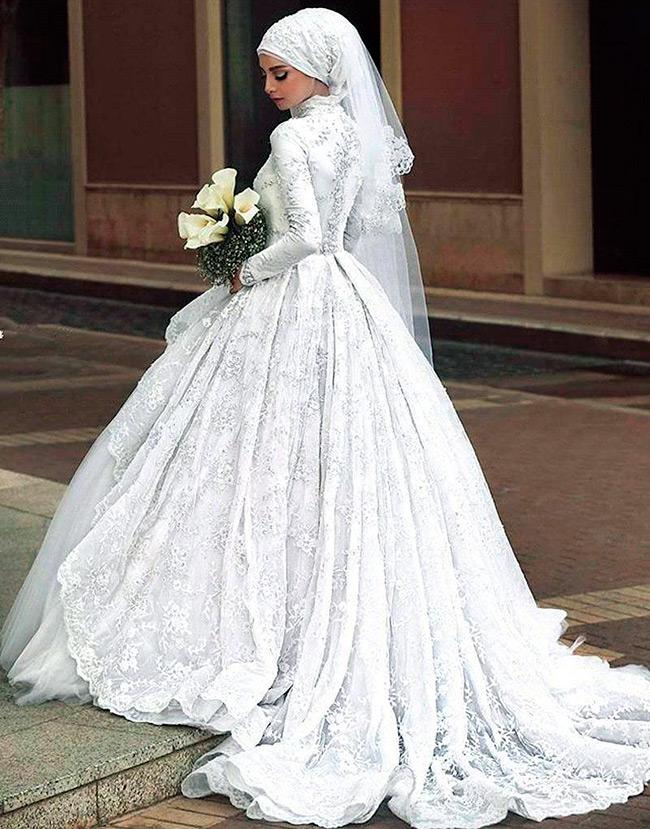 Свадебное платье для мусульманки