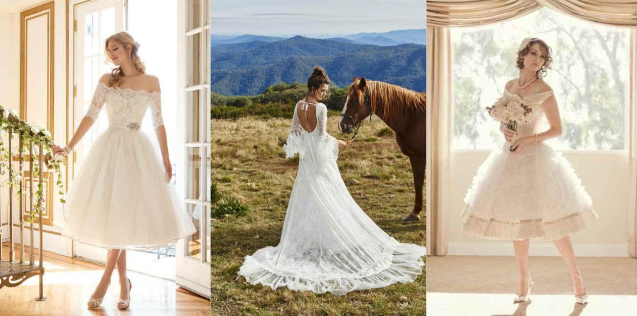 Свадебное платье в стиле Прованс светлых тонов