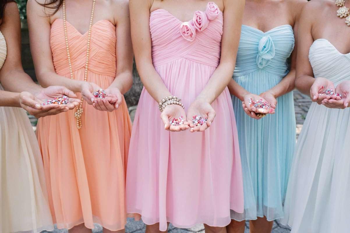 Свадебные платья для подружек невесты