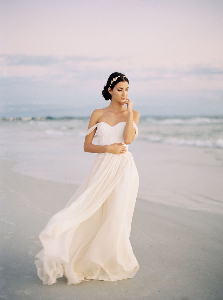 Свадебные платья из шифона