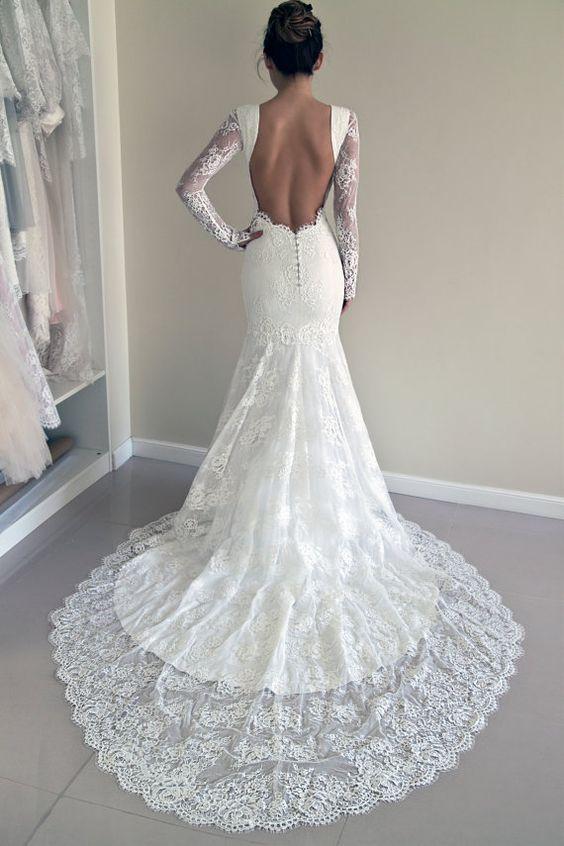 Свадебные платья - как выбрать рукав