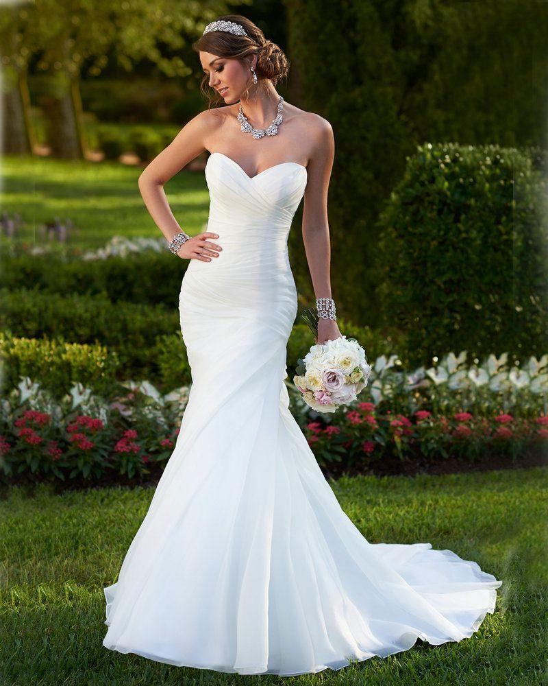 Свадебные платья не пышные