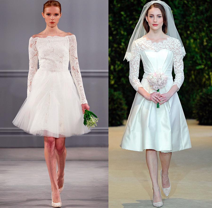 Свадебные платья с длинным рукавом для настоящих принцесс