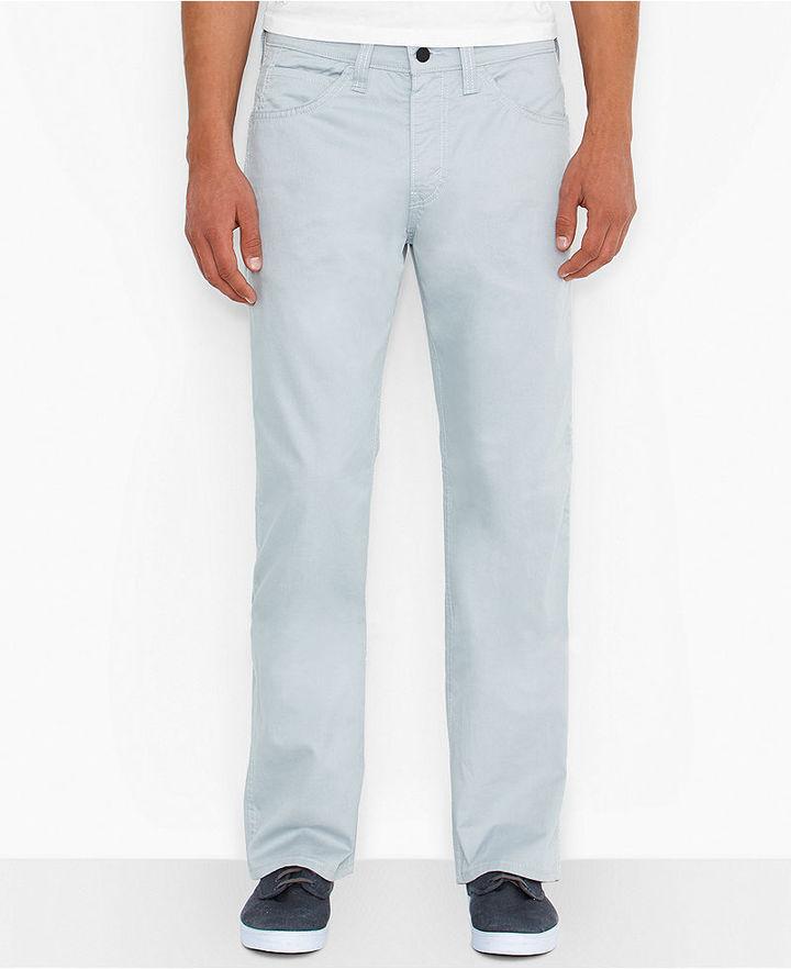 Светлые голубые современный брюки