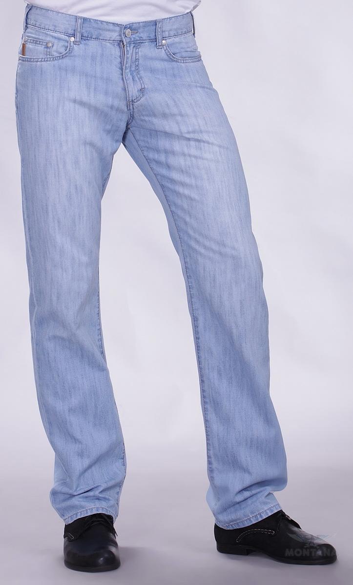 Светлый джинс