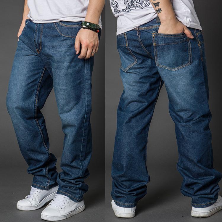 Свободный крой мужских джинсов