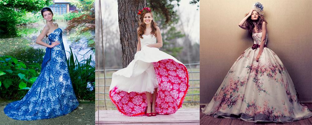 Цвет платья