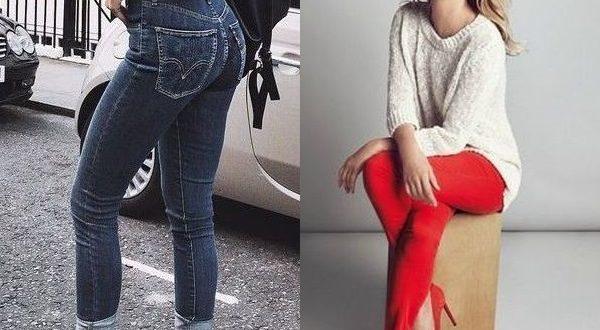 Цвет узких джинсов