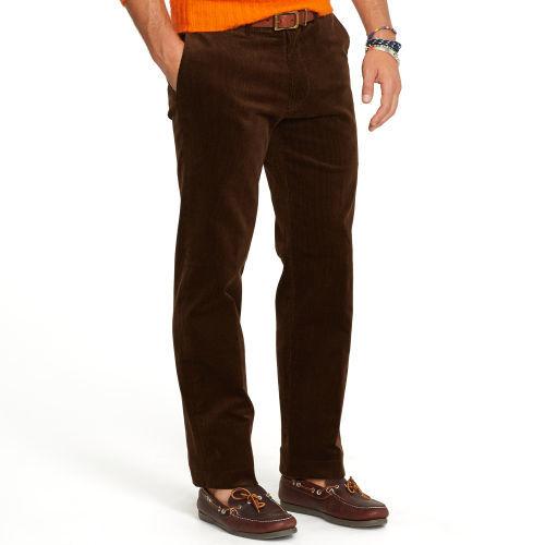 Темно-коричневые современные джинсы