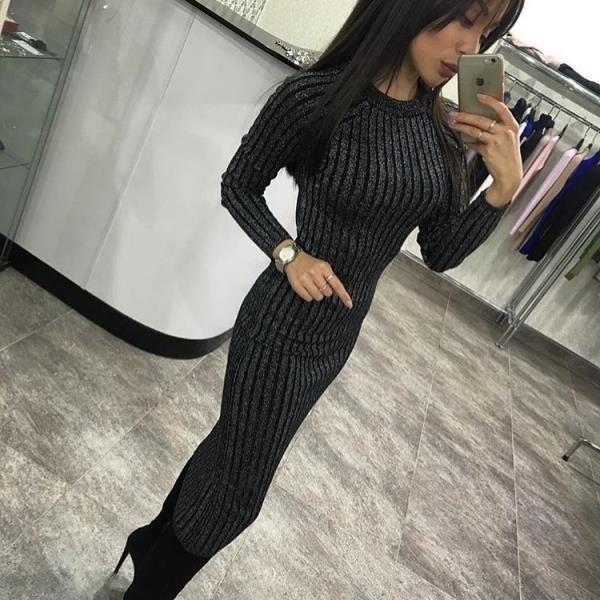 Темно -серый