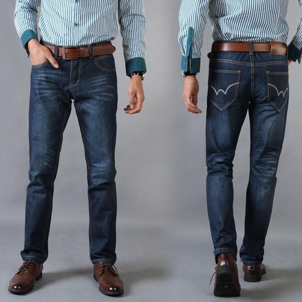 Темные штаны для мужчины