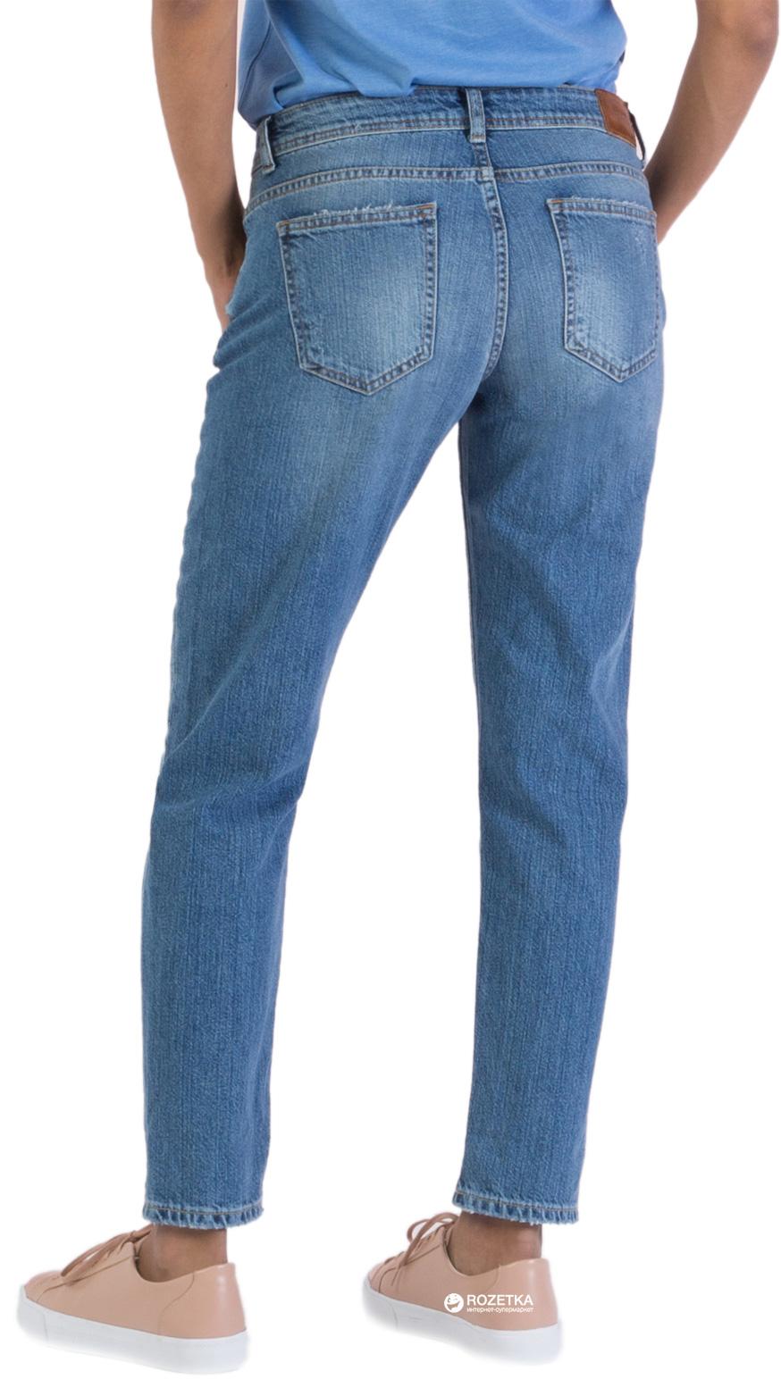 Удобные голубые джинсы Colin's