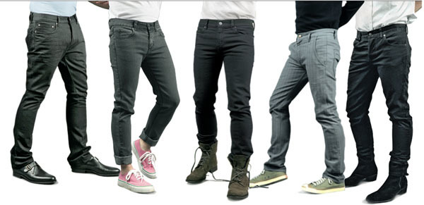 Удобные и практичные джинсы в разном цвете