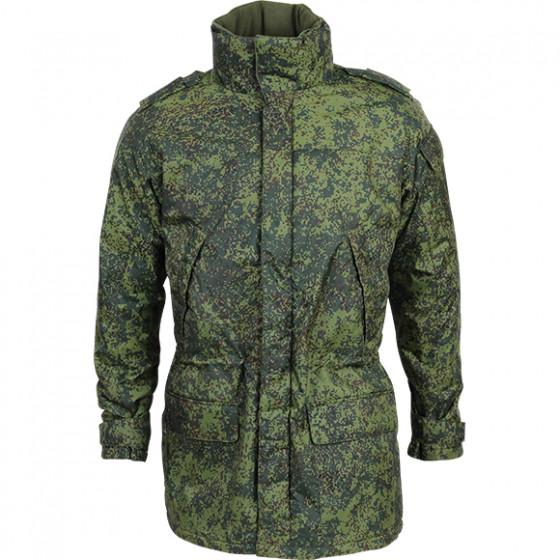 Утепленная куртка Цифровая флора