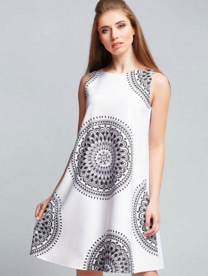 Uzory-na-tkani Платье трапеция - стиль 60-х снова в тренде, 365 фото