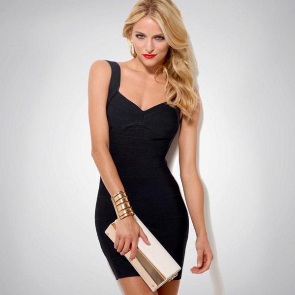 Вариант красивого платья для вечера