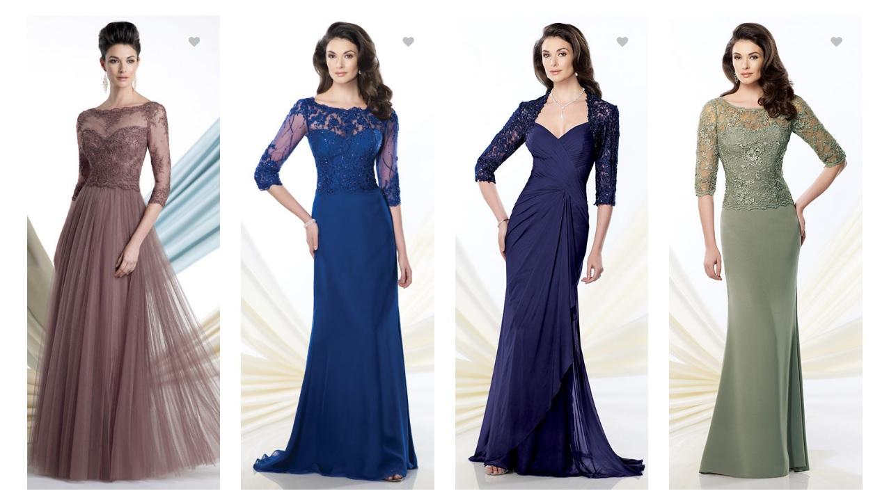 Вечерние платья для мам невест и женихов