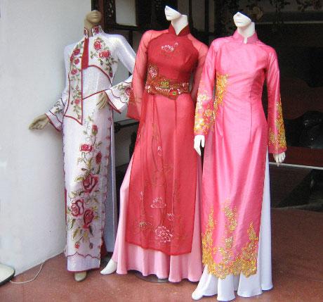 Вьетнамская национальная одежда