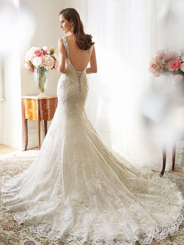 Воздушное платье невесты