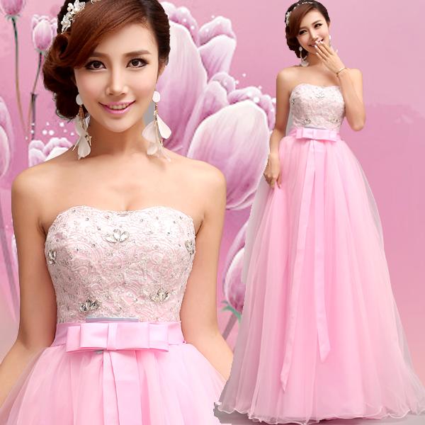 Выбираем розовое свадебное платье для нежной невесты